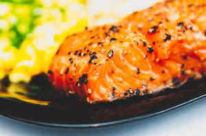 Lack of sulfur in the body - salmon