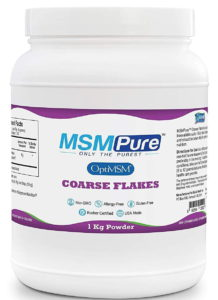 Kala Health MSMPure Coarse Powder Flakes bottle