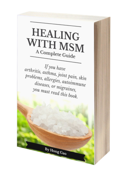 Healing with MSM